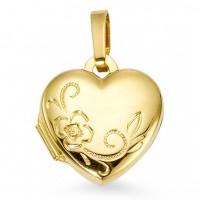 Medailónik zlaté srdiečko