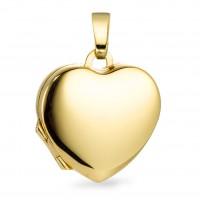 Zlaté srdiečko medailónik