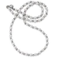 Strieborný perlový náhrdelník