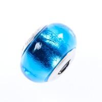 Modrý korálový prívesok